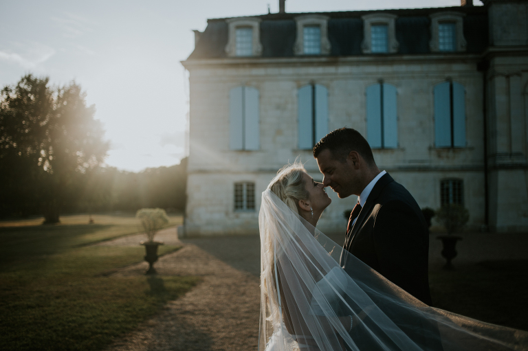 French chateau wedding photography